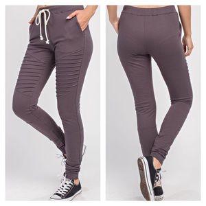 Pants - 🎉BLOWOUT SALE💥🔥Moto Slim Fit Draw String Jogger